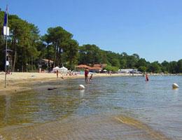 Camping-car Lac de Cazaux