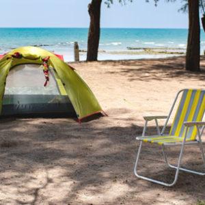 Un camping à Lège Cap Ferret