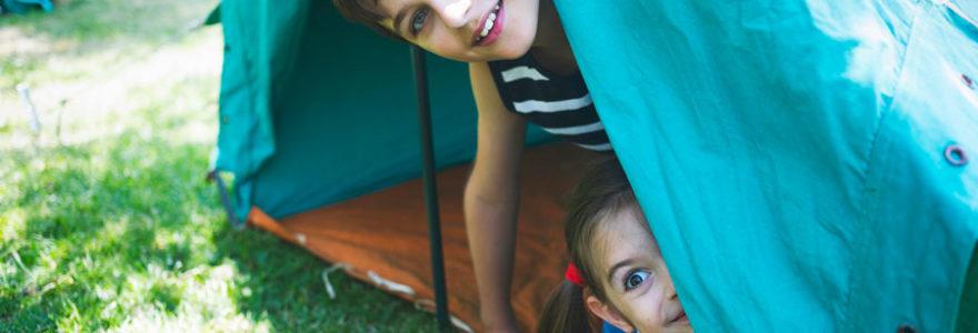 camping pour tente